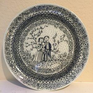 TWO Bjorn Wiinblad Seasons Spring & Winter plates